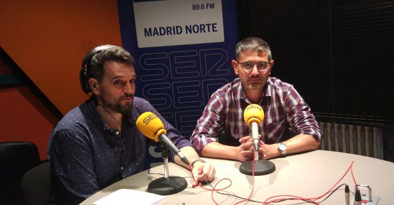 Rafael Sánchez Acera, portavoz PSOE Alcobendas en los estudios de Hoy por Hoy Madrid Norte