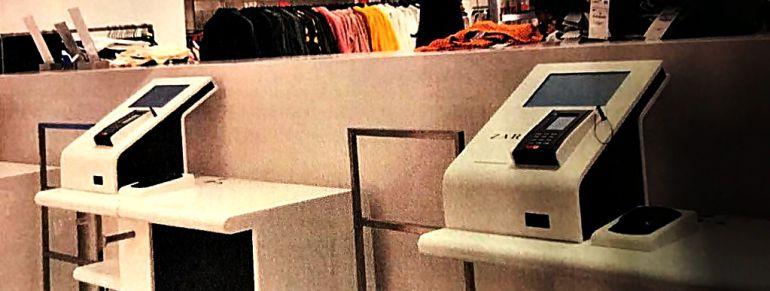 Máquinas instaladas en Zara, según la CIG