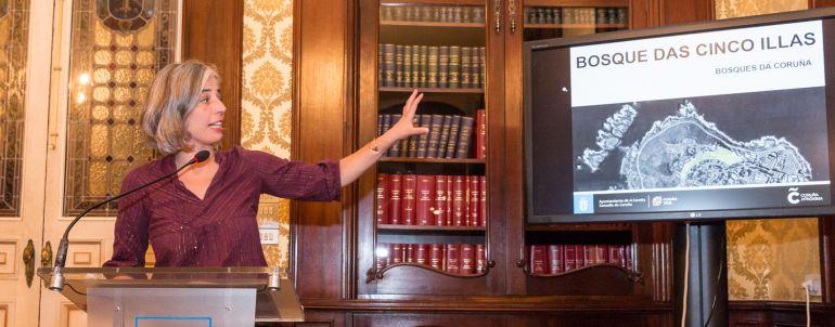 María García presenta el proyecto