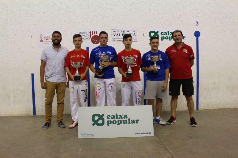 Raül Blasco, bronce en el individual sub-16 de escuelas de Escala i Corda