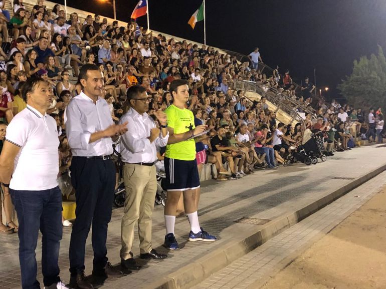Un momento de la inauguración de la Torrellano Cup 2018
