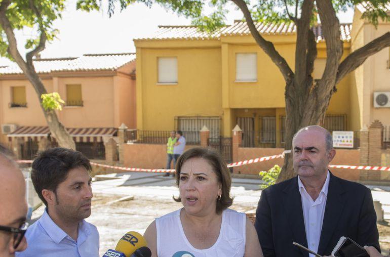 Visita de la Delegada de la Junta a Guadix.