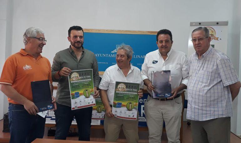 """Acto de presentación del Open de Tenis """"Ciudad de Linares"""""""