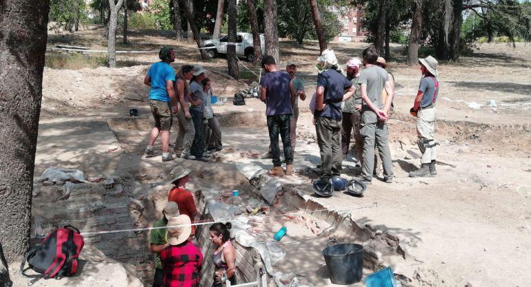 Ruinas del Asilo de Santa Cristina, objeto de estudio de un equipo de arqueólogos del CSIC
