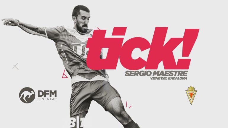 Sergio Maestre, un medio centro del Badalona para el Real Murcia ...