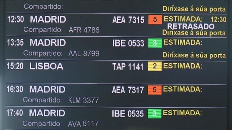 La cancelación y desvíos de vuelos en junio por la falta de sistema antiniebla hacen que Peinador cierre el mes a la baja