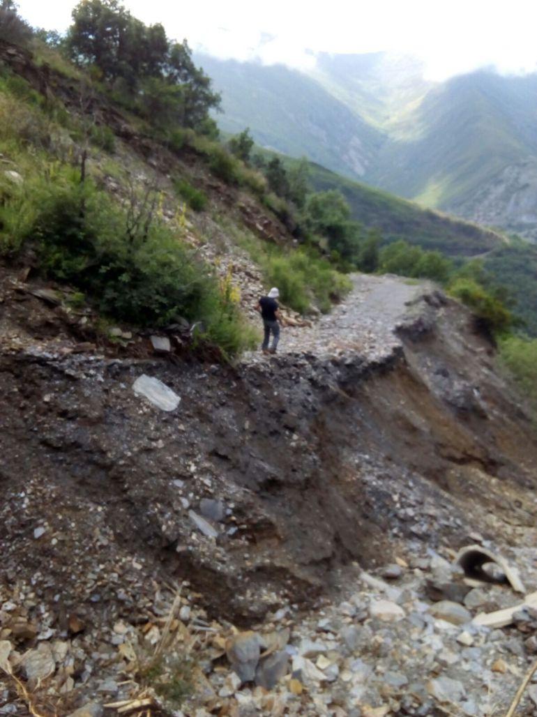 Junta, Diputación y Ponferrada se unen para reparar el vial de Peñalba