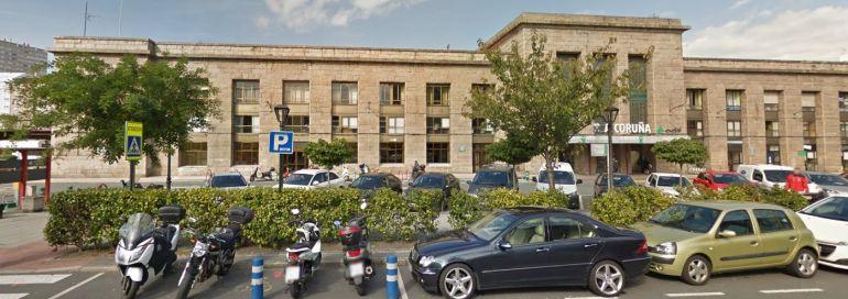 Estación del tren de A Coruña