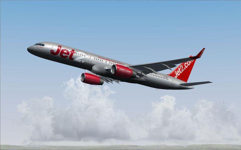Avión de la compañía
