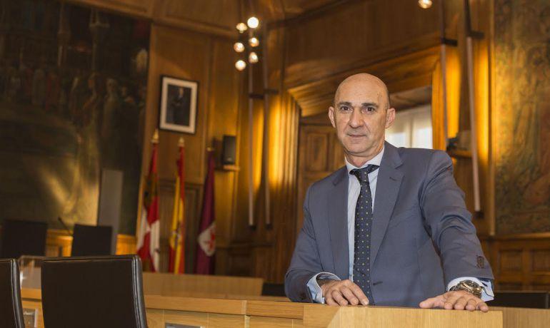 Juan Carlos Fernández es el único diputado provincial con el que cuenta Ciudadanos en León