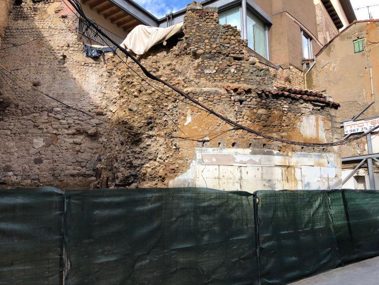 Las obras de la muralla de Conde Rebolledo darán comienzo a final de mes