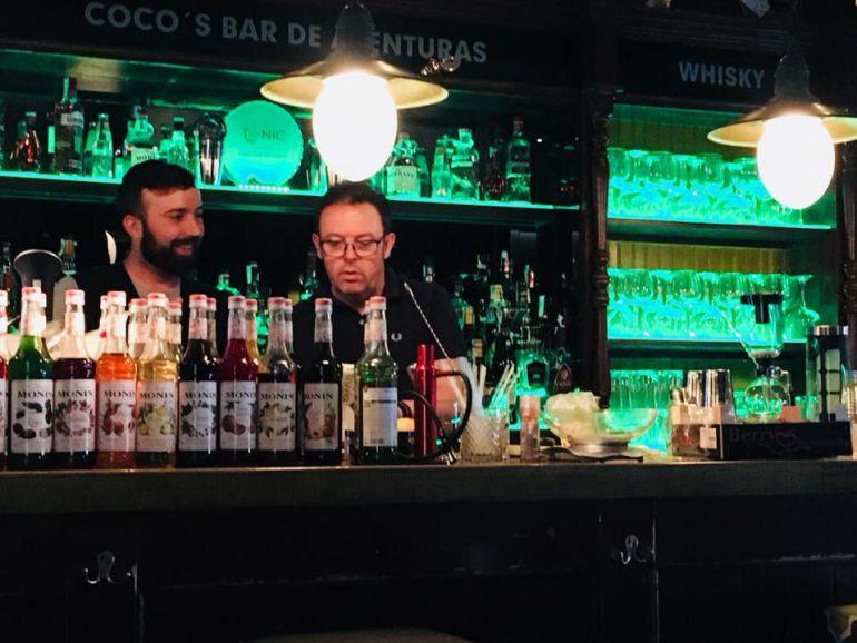 Taller sobre elaboración de cócteles 0.0 impartido esta semana en Medina del Campo