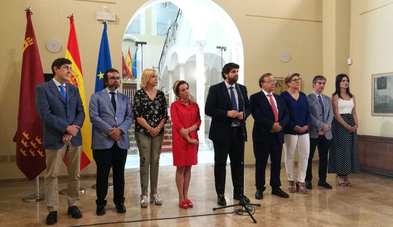 El consejo de Gobierno al completo valora la decisión sobre la llegada del AVE a la Región