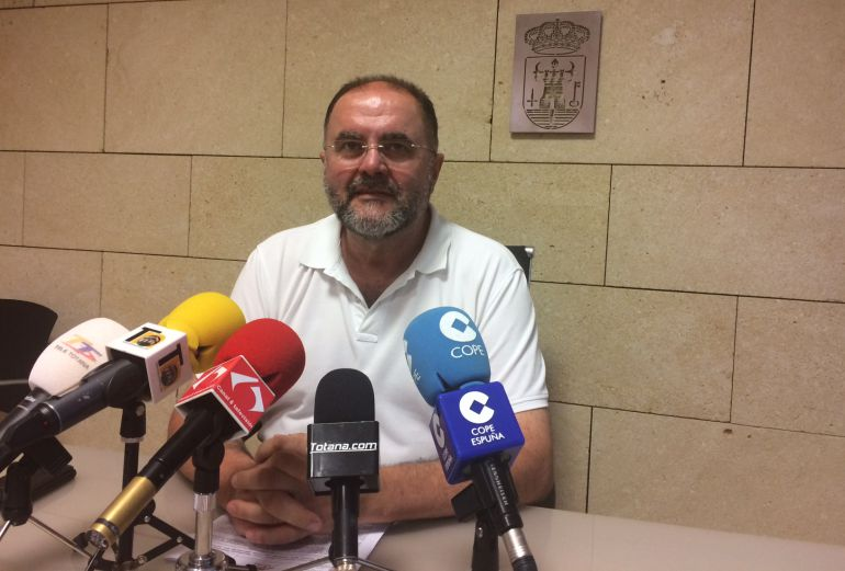 Juan José Cánovas, teniente de alcalde de Totana