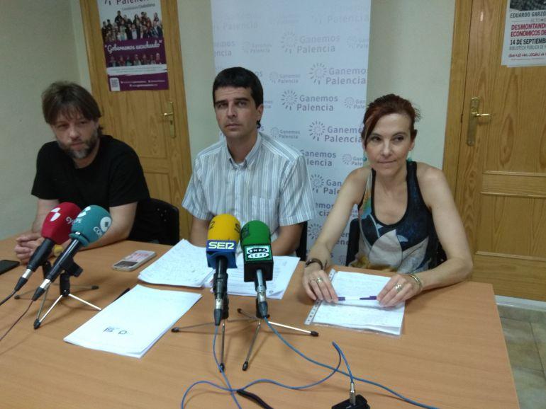 Fran Fernández, Juan Gascón y Patricia Rodríguez