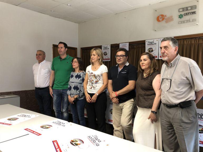 """La """"Tapa Solidaria"""" se celebrará los días 27, 28 y 29 de julio en establecimientos palentinos"""