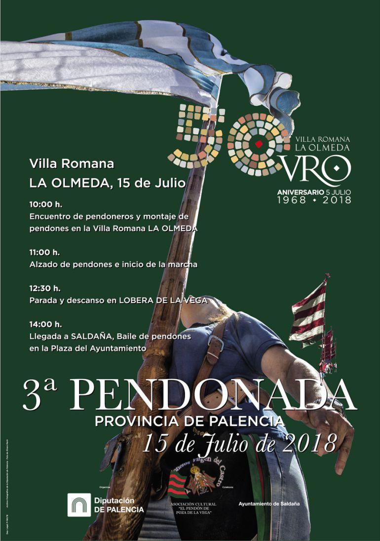 III Pendonada Provincial, 50 Aniversario de la Villa Romana de La Olmeda