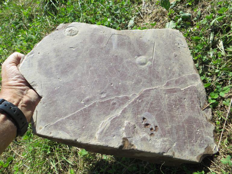 Hallazgo de un posible primer plano urbano vasco de la prehistoria en el poblado de Basagain, en Anoeta.