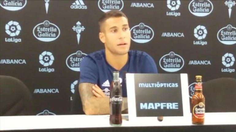 Hugo Mallo, capitán del Real Celta de Vigo.