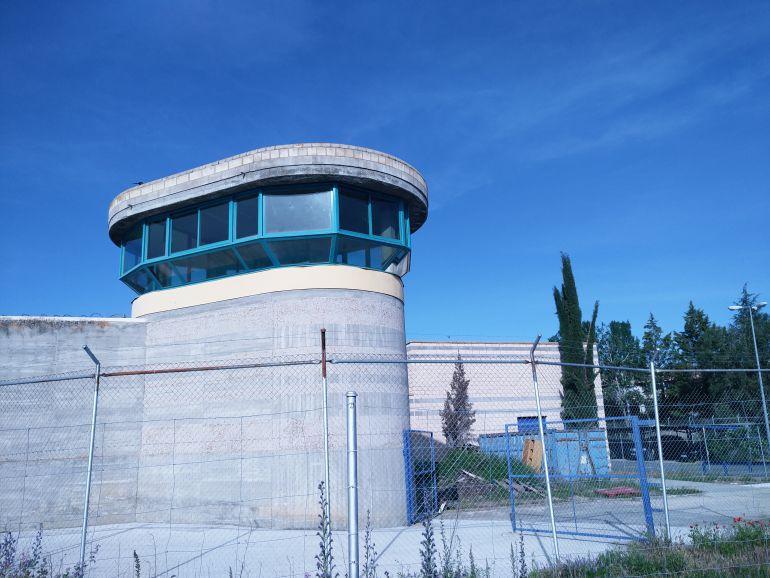 Garita de vigilancia del Centro Penitenciario de Brieva (Ávila)