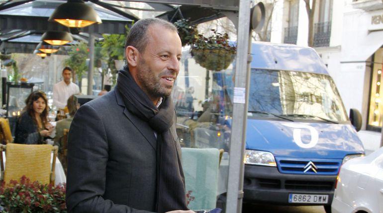 El expresidente del FC Barcelona, Sandro Rosell, en una imagen de archivo