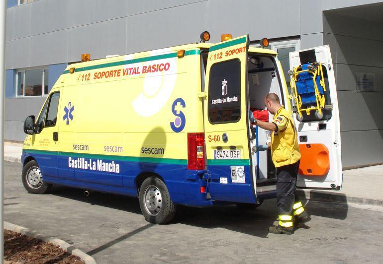 Cinco heridos en un accidente de tráfico en Torralba de Calatrava