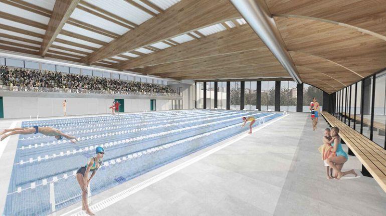 Aprobada la licitaci n de la nueva piscina ser vila for Piscina municipal avila