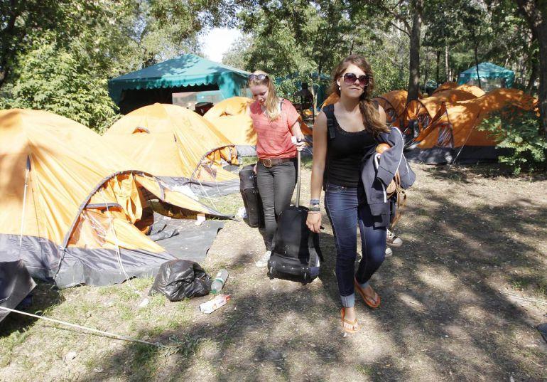 La situación de los campings en la provincia de Salamanca, en la SER: 'Verano atípico' y flojo en los campings de la provincia de Salamanca