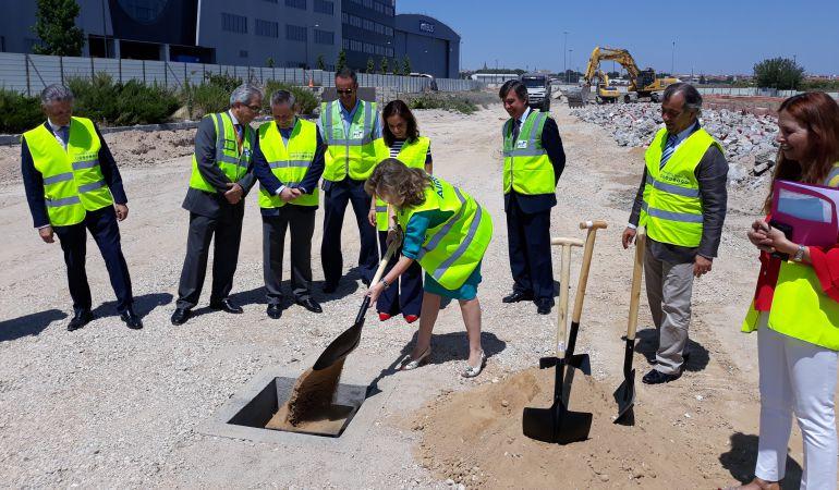 Primera piedra del nuevo campus de airbus en getafe donde for Oficina ryanair madrid