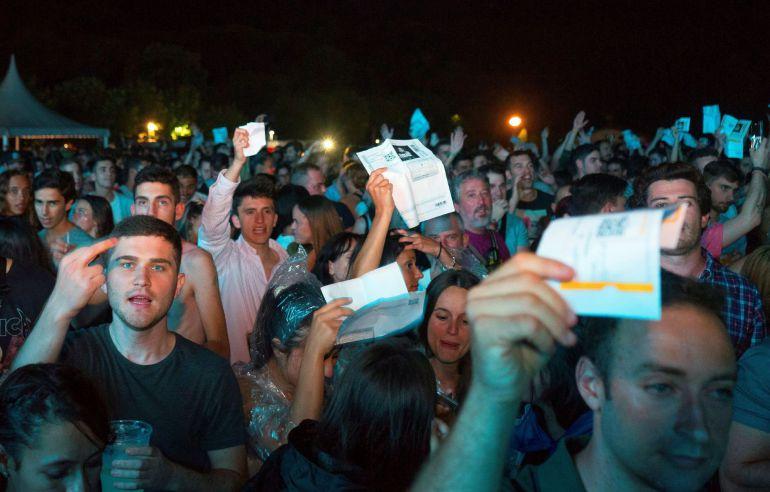 David Guetta suspende su concierto en Santander