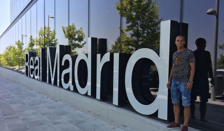 Ayoub Abou, a un paso del Madrid
