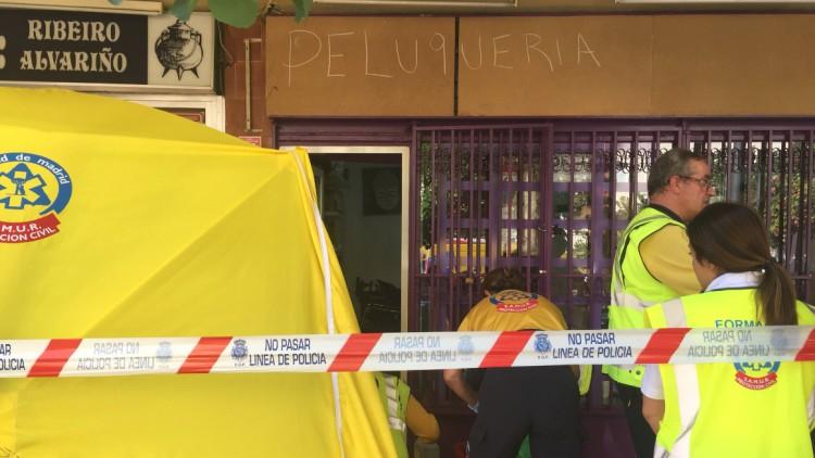 Detenido un hombre por matar a puñaladas a su expareja en Madrid