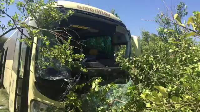 Accidente en c rtama una colisi n frontal entre un coche - Jefatura de trafico malaga ...