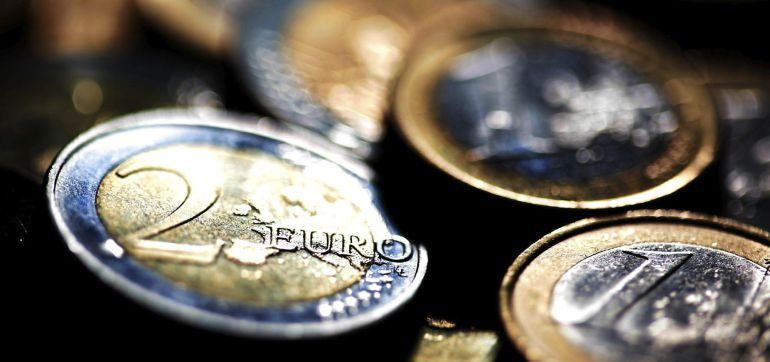 Detalle de varias monedas de euro. EFE/Archivo