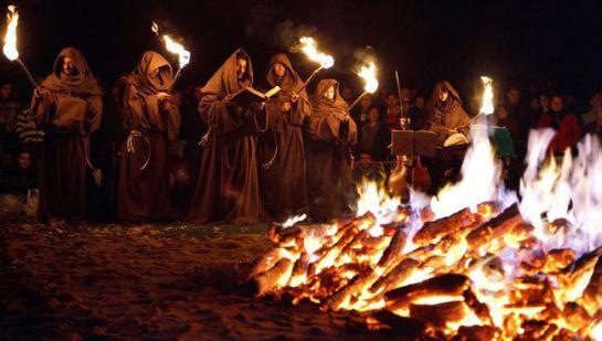 La tradición del monte de las Ánimas