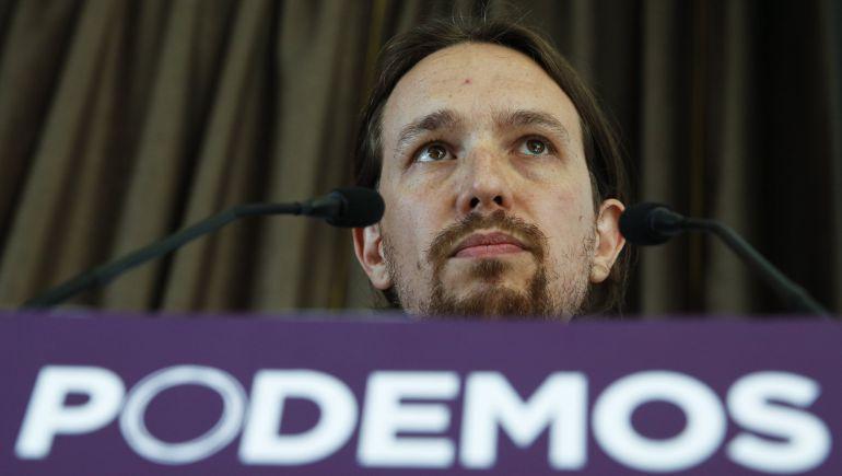 Pablo Iglesias, fundador de Podemos.