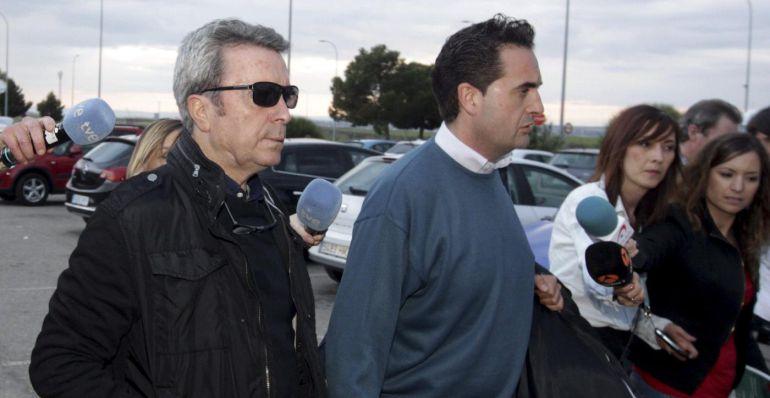 Ortega Cano, cuando entró en prisión para cumplir su condena,