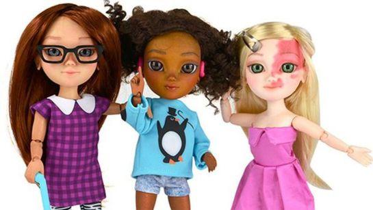 Muñecas personalizadas por la firma Makies, elaboradas con impresoras 3-D