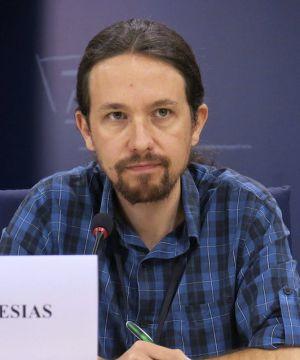 Pablo Iglesias en el Parlamento Europeo
