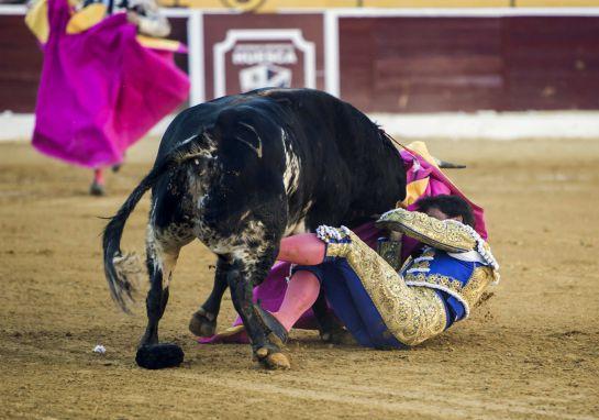 El torero Francisco Rivera Ordóñez, grave tras una importante cogida en Huesca