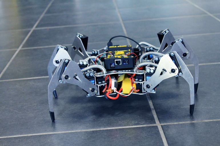 Drones y robots-araña que salvan vidas