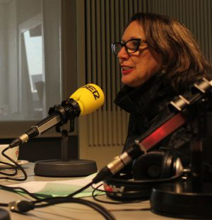 Rebeca Grynspan durante la entrevista
