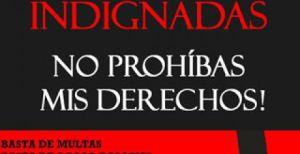 prostitutas indignadas sinonimo de participan