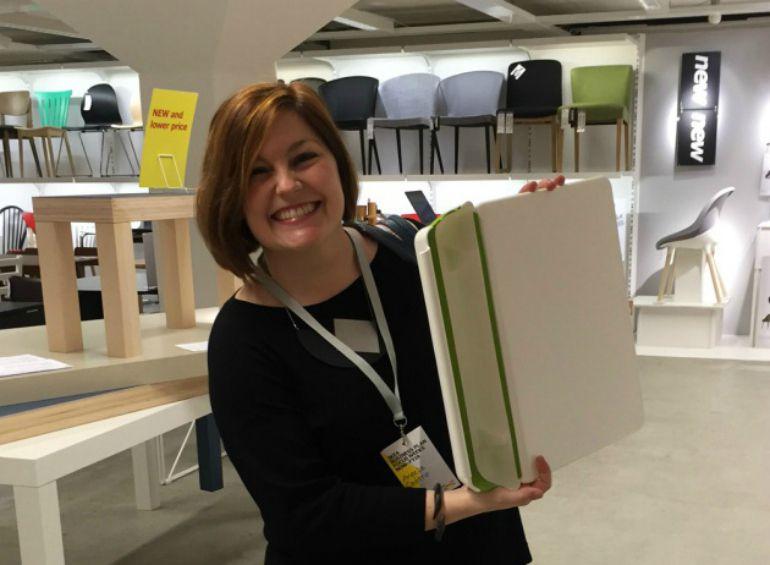 Una espa ola gana un concurso de ikea por una tabla de - Ikea todos los productos ...