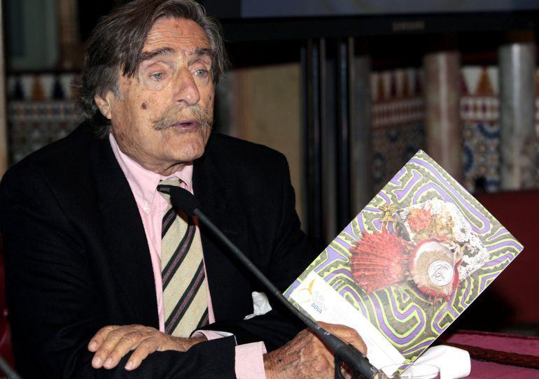 Fotografía de archivo del reportero y deportista Miguel de la Quadra-Salcedo que ha muerto el pasado viernes en su casa de Madrid a los 84 años