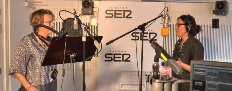 Un momento de la grabación del programa Ser o no Ser.