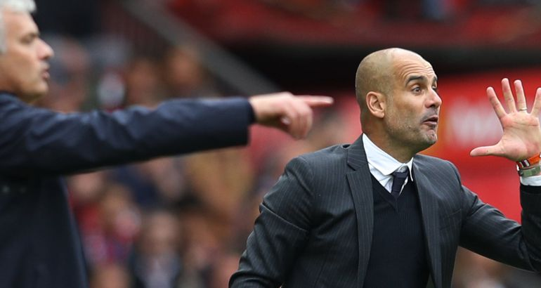 Pep Guardiola vuelve a ganarle la partida a Mourinho en un derbi igualado