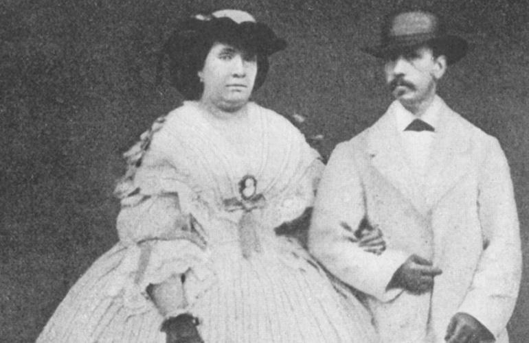 Isabel II y Francisco de Asís, un despelote de pareja