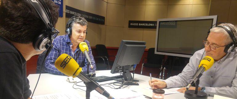Ramón Gener presenta su novela 'El amor te hará inmortal' en 'Hoy por hoy' con Gemma Nierga