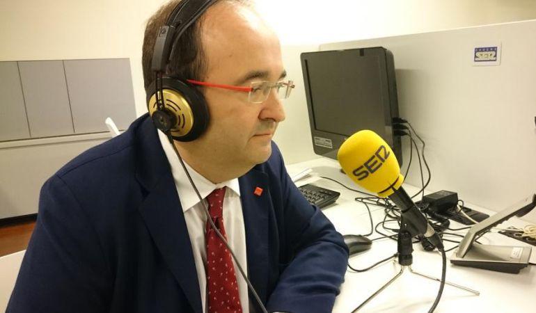 El primer secretario del PSC Miquel Iceta.